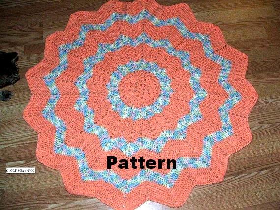 Crochet 16 Point Star Blanket Pattern Pdf