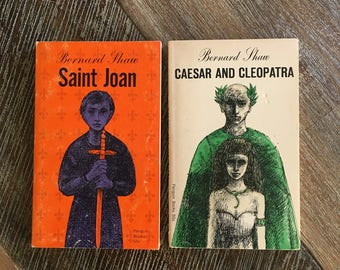 Saint Joan and Caesar and Cleopatra by Bernard Shaw (Penguin Books, 1966) PL-1 PL-3