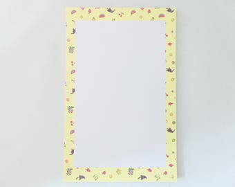 Juicy Fruits Notepad – 5.5in x 8.5in