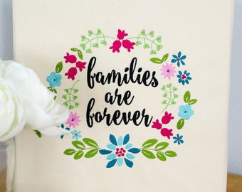 Families are Forever Machine Embroidery Design