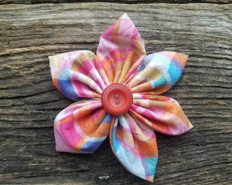 Summer dog collar flower, flower, dog collar flower over the collar, small