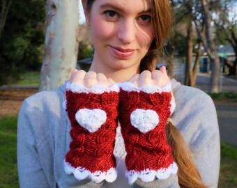 Val-entwine Fingerless Gloves