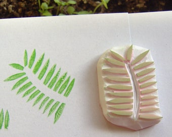 Leaf rubber stamp, tropical leaves stamp, palm stamp, palm leaf stamp, tropical stamp, leaves stamp, plant stamp, scrapbooking, rubber stamp