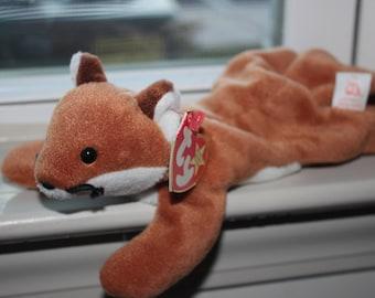 Sly the Fox ty Beanie Baby 1996