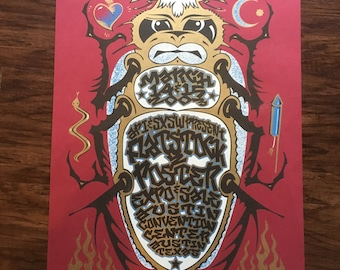 Flatstock 2 Hand Pulled at GH Design Gary Houston signed 22/225