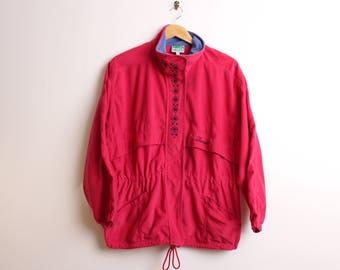 Women's Diadora Fleece Jacket Retro Festival Size Medium