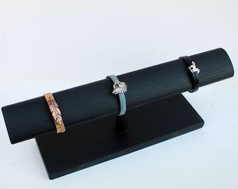 """Bracelet Display 15"""", 115"""" T Bar, Jewelry Display, Jewelry Holder, Bracelet holder, Wood bracelet holder, Wood Jewelry Display"""