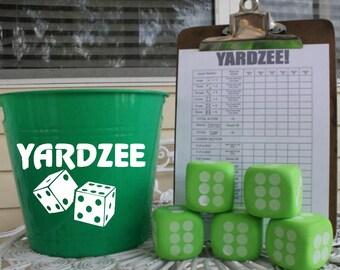 Yardzee Game Set