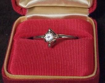 Unique Engagement Style UNCAS Ring Gold filled