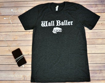 Wall Baller (30lb), Men's Workout Shirt, Crossfit, Funny Workout Shirt, Workout Gifts For Him, Gym Shirt, Fitness Gifts, Crossfit Gifts