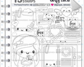 Love Stamps 80OFF Commercial Use Digi Stamp Digital Image