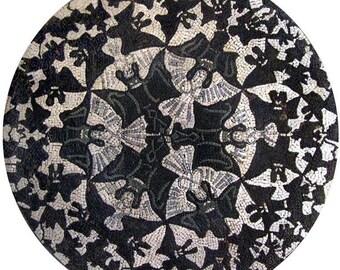 Round Mosaic Art - Angelina