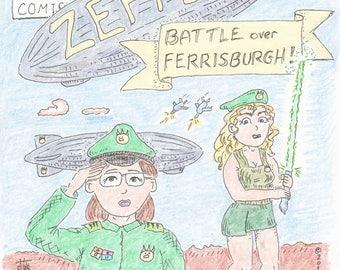 Part 1. Zeppelin: Battle over Ferrisburgh
