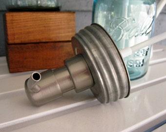 Ball / Mason Jar Pump Lid ONLY