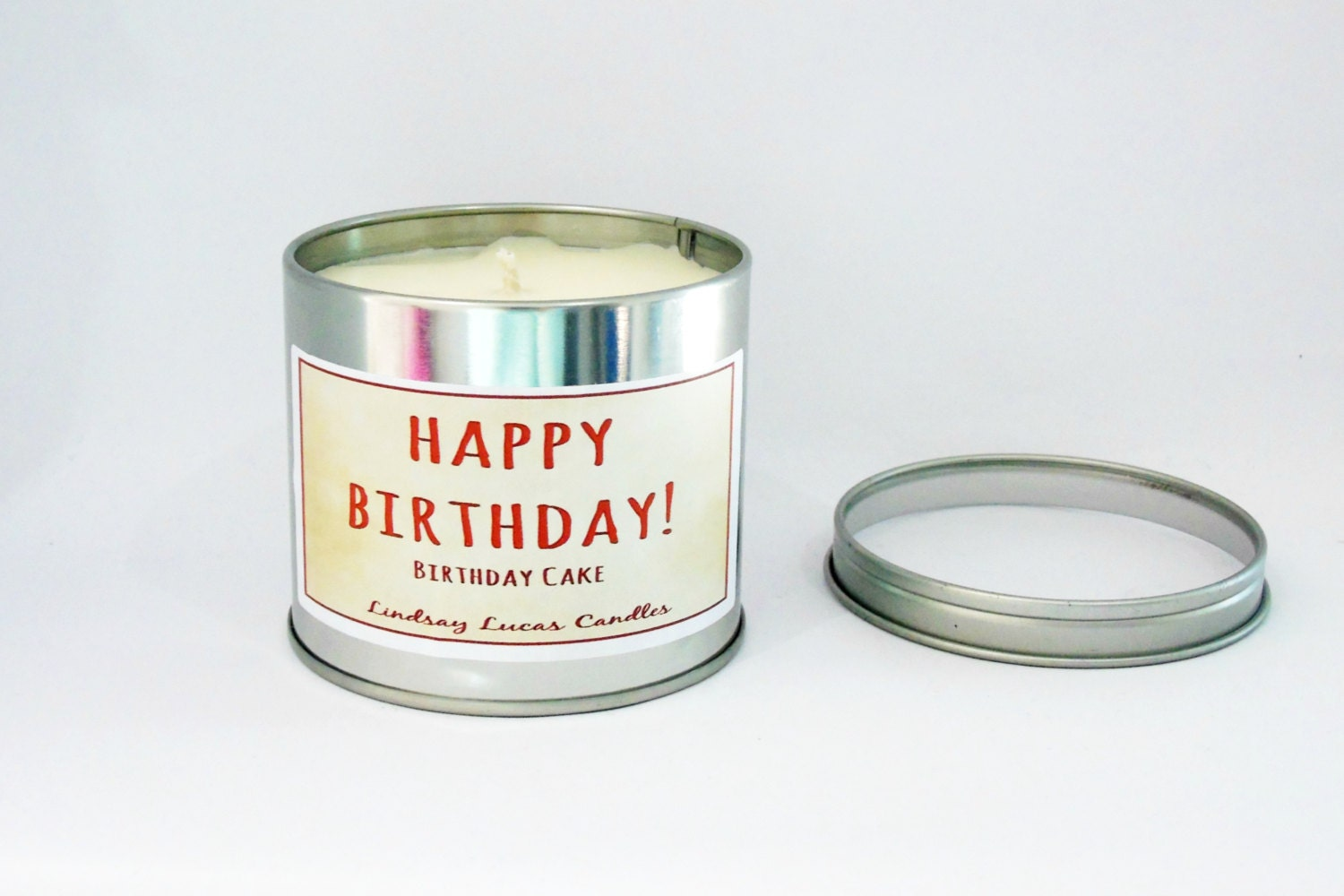 Birthday Cake Candle Cake Scented Candle Tin Candle Scented