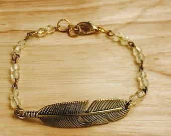 Bracelet«plume»