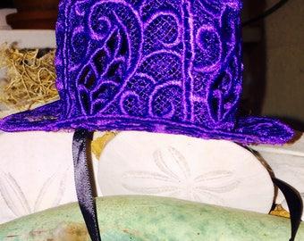 Tiny Lace Hat