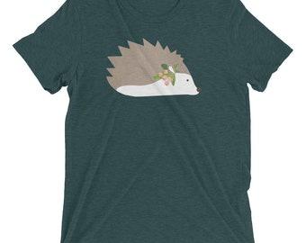 Women's Hedgehog Short sleeve t-shirt, Hedgehog, Hedgehog Shirt, Women's Shirt