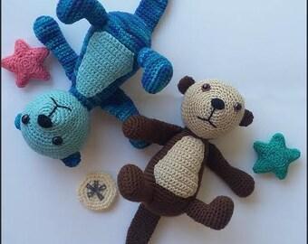 Crochet Pattern - The Sea Otters