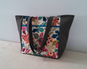 Women Handmade, Handmade Quilted Bag, Quilted Tote Bag, Handmade Handbag, Handmade Purse, Quilted Handbag, Quilted Purse with cotton ducks