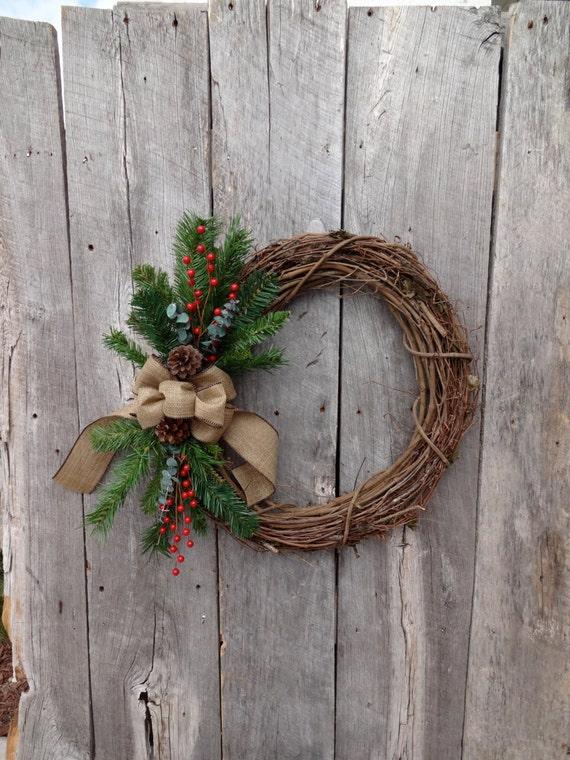winter wreath holiday wreath christmas wreaths for door. Black Bedroom Furniture Sets. Home Design Ideas