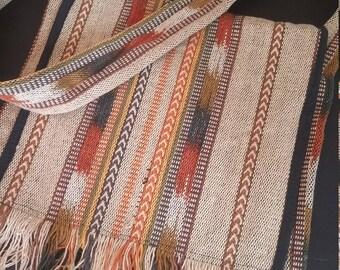 Vintage Woven Cotton Cross Body Strap Boho Bag