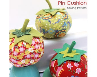 Tomato Pin Cushion PDF Sewing Pattern