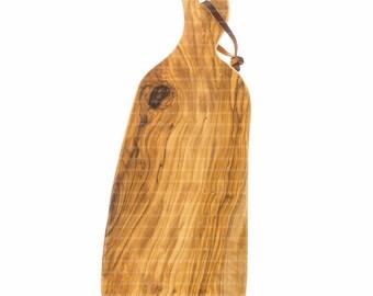 Olive Wood Cutting Board 31.5 cm Made in Israel Jerusalem Olive Wood