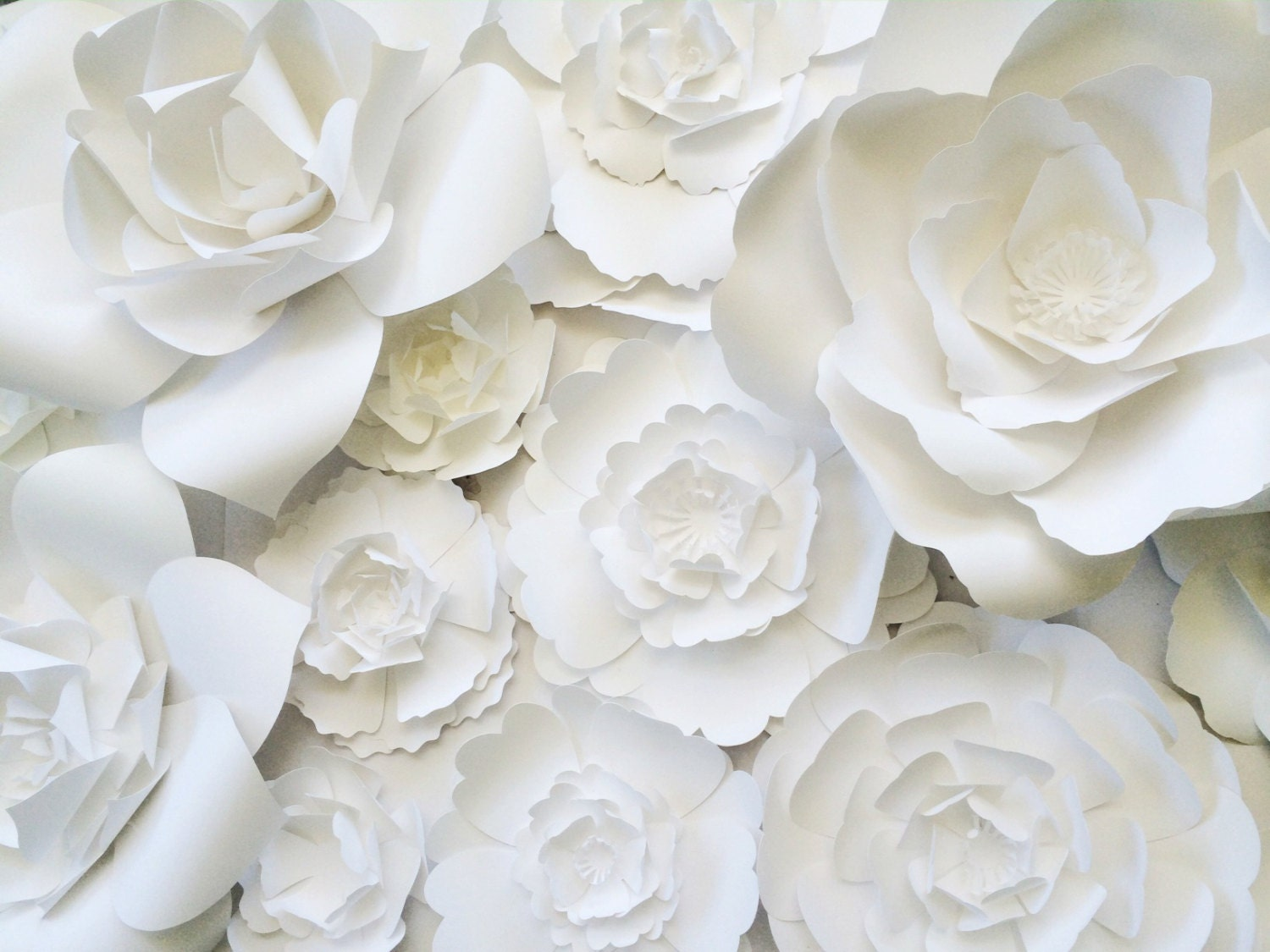 Paper flower wall decor large paper flower wall backdrop zoom mightylinksfo Image collections