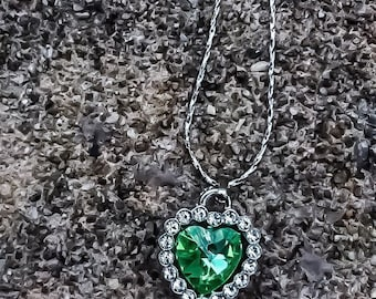 3 designs-natural gemstone crystal necklace S925 silver