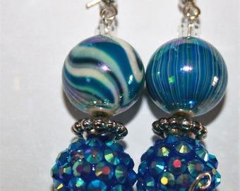 Blue Zebra Sparkles