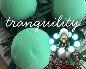 Tranquility Bath Bomb | Overwatch Bath Bomb, Zenyatta Bath Bomb, Zenyatta Gifts, OVW, Geek Bath Bomb, Nerd Bath Bomb