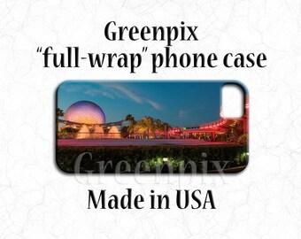 Disney EPCOT iPhone case, Spaceship Earth, Disney iPhone X, iPhone 8, iPhone 8 Plus, iPhone 7, iPhone 7 Plus, iPhone 6 6S, iPhone 6 6S Plus