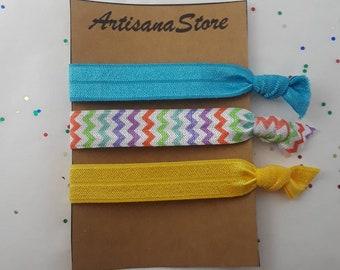 Hair Ties / Elastic Hair Ties / Elastic Ties