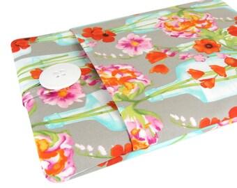 Kindle Fire 7 Case - Kindle Fire HD 8 Case - Kindle Fire HD 10 Case - Flower Fabric
