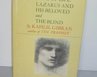 31118BB12 1973 1st Ed HC/DJ Dramas of Life Kahlil Gibran His Beloved & the Blind Spiritual Book Religion