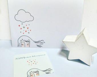 "Ticket ""rain of hearts and stars"""