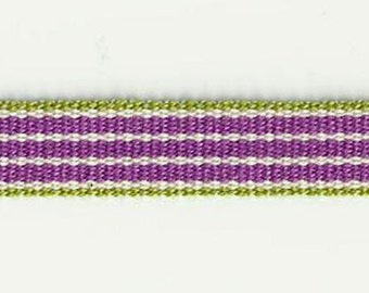 Design stripe lilac - green & purple stripe