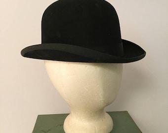 Lee Felt Derby Bowler Hat