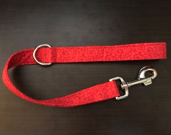 Short Fabric Leash