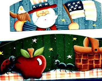 The Creative Coach Herb Planter Box Members Only Pattern Decorative Painting Chart Pack Laurie Speltz Patriotic Acrylic Paint Design Rare