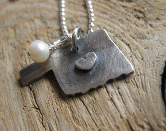 Oklahoma Necklace (fine silver)