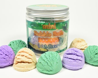 St. Patrick's Day Mini Bubble Bath Scoops - St. Patrick's Day for kids, St Pattys Day for girl, St. Patrick's Day for boys, Bubble bar