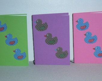 Set of five patterns pack 3 ducklings