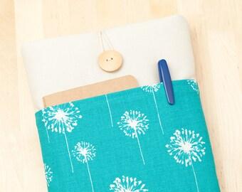 ipad mini 4 case / ipad mini cover / ipad mini sleeve - blue dandelion -