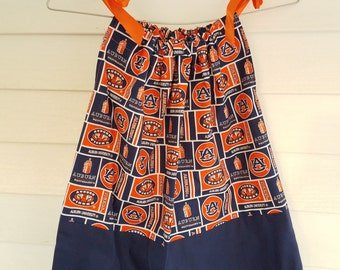 Auburn Block print Pillowcase Dress