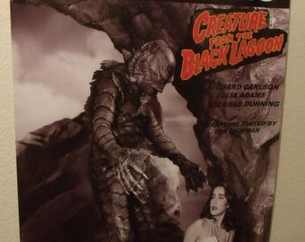 "Creature From The Black Lagoon - Retro Limited Edition 24""x36"" Poster - New"