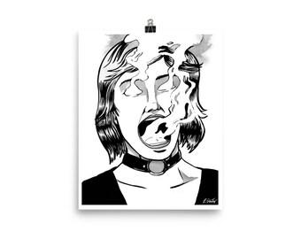 Ectoplasm fine art print // comic art // lowbrow