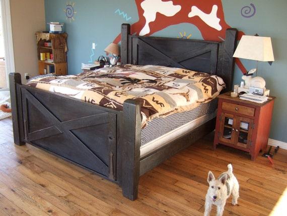 The Original Barn Door Bed