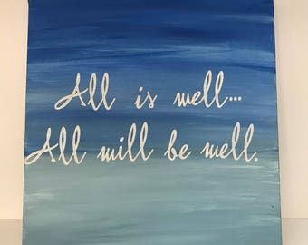 All is well 10x10